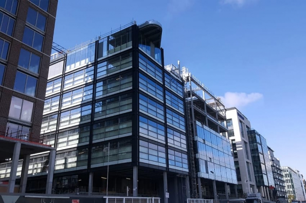GLASSBEL supplies insulated glass units to Capital Dock