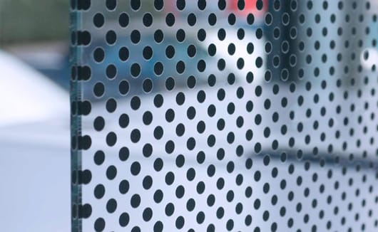 Image result for pane of glass with dots